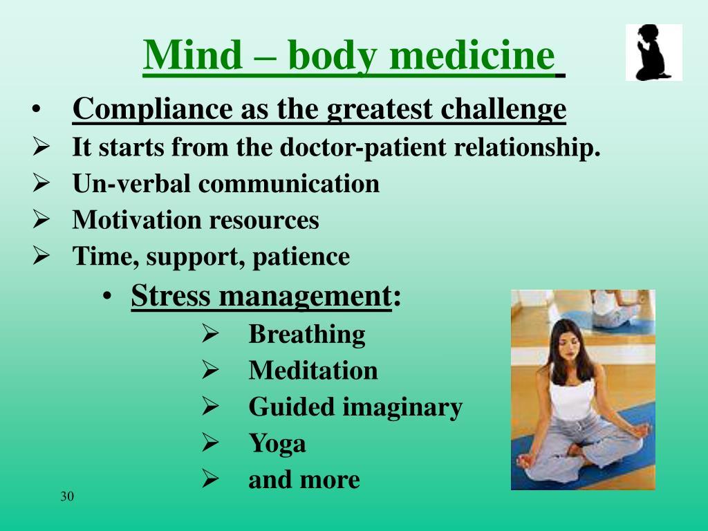 Mind – body medicine