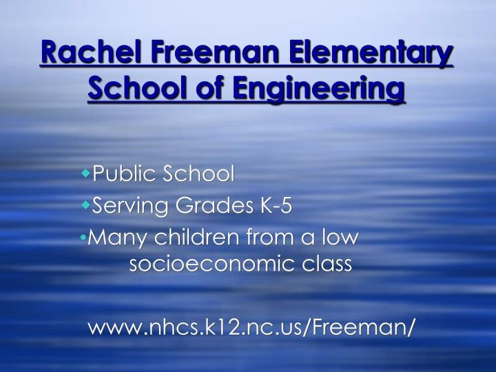 Rachel Freeman Elementary