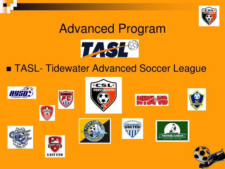 TASL- Tidewater Advanced Soccer League