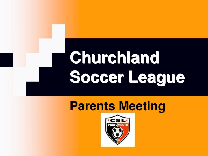 Churchland soccer league