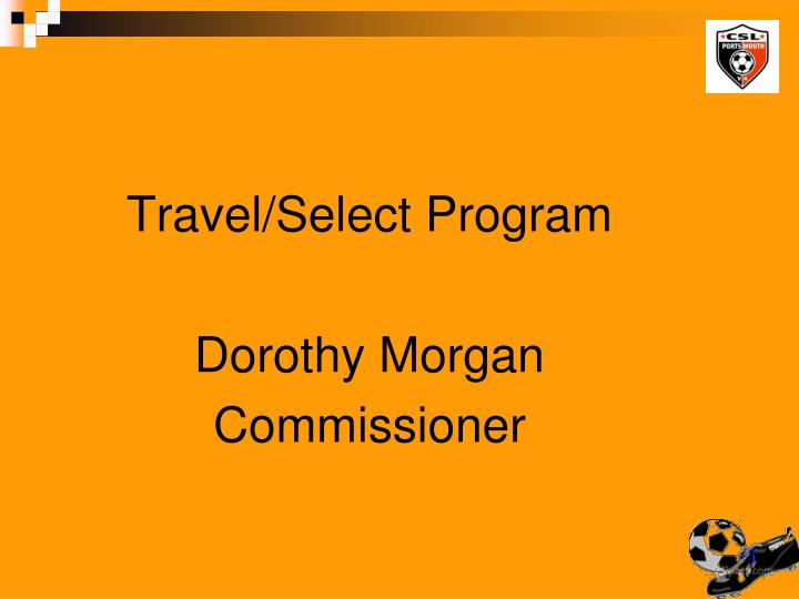 Travel/Select Program