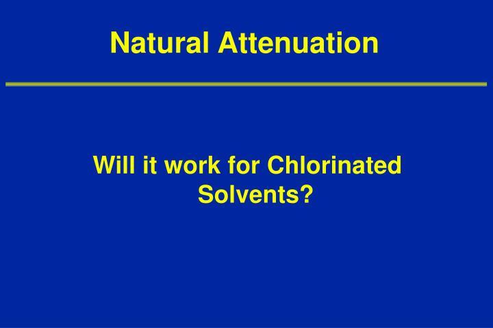 Natural Attenuation