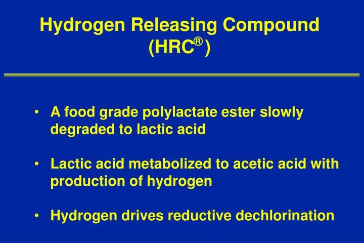Hydrogen Releasing Compound