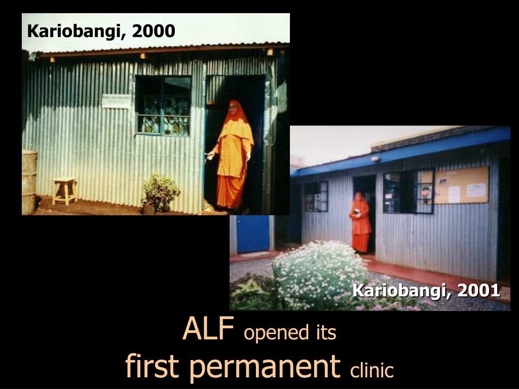 Kariobangi, 2000