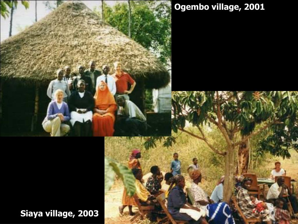 Ogembo village, 2001