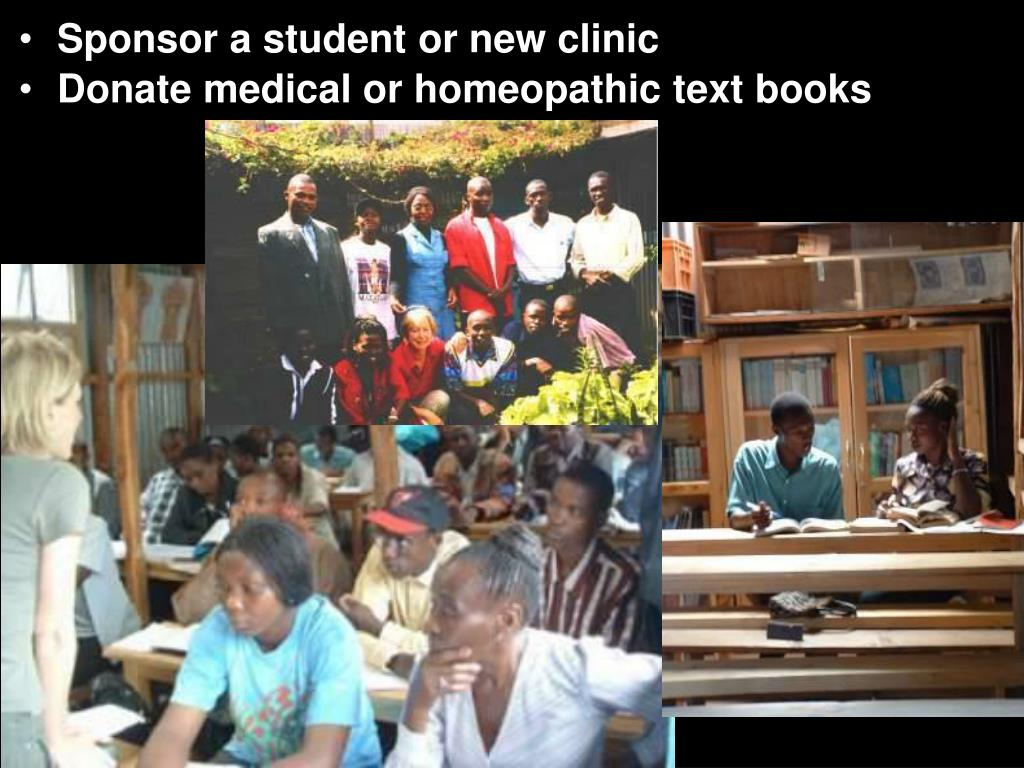 Sponsor a student or new clinic