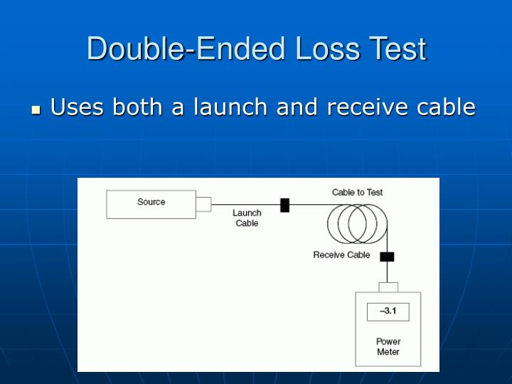 Double-Ended Loss Test