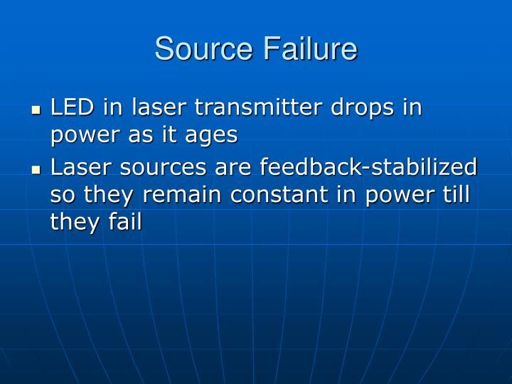 Source Failure