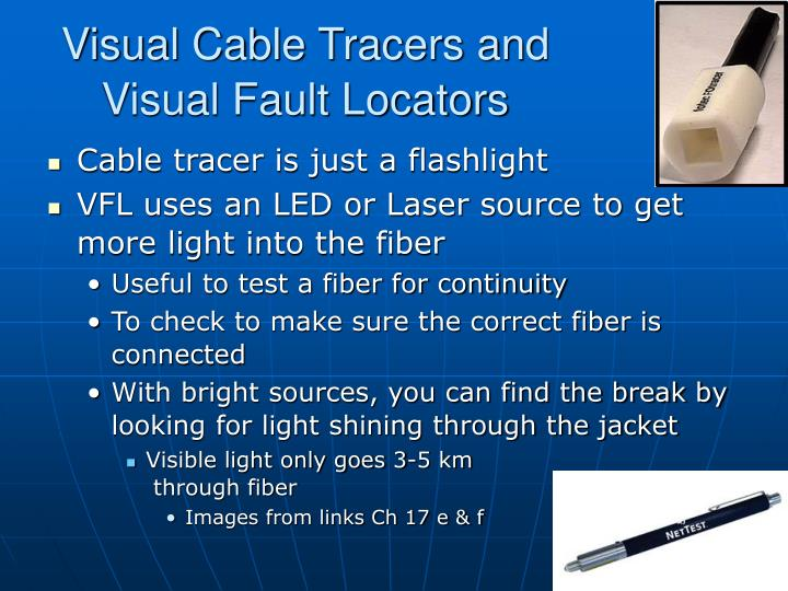 Visual Cable Tracers and