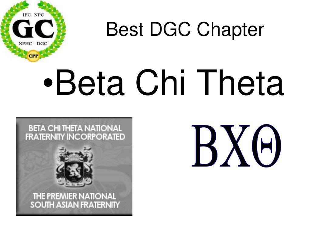 Best DGC Chapter