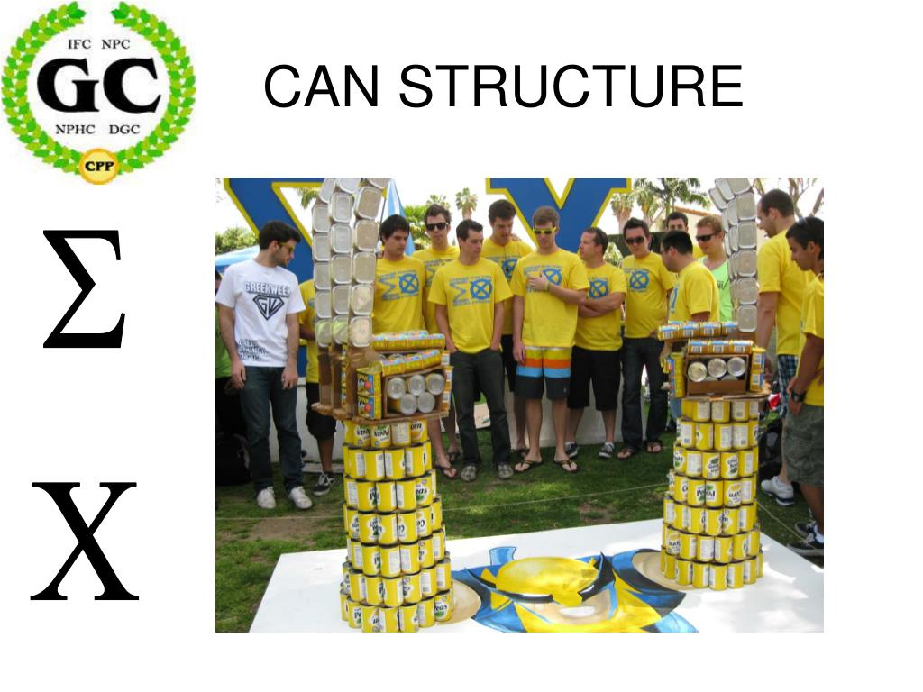 CAN STRUCTURE