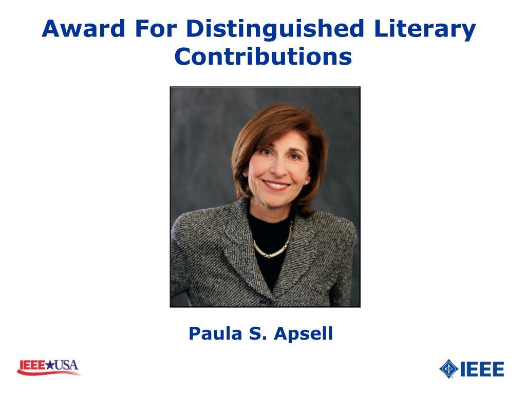 Paula S. Apsell