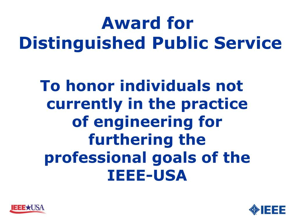 Award for