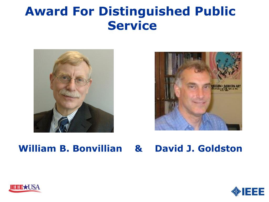 Award For Distinguished Public