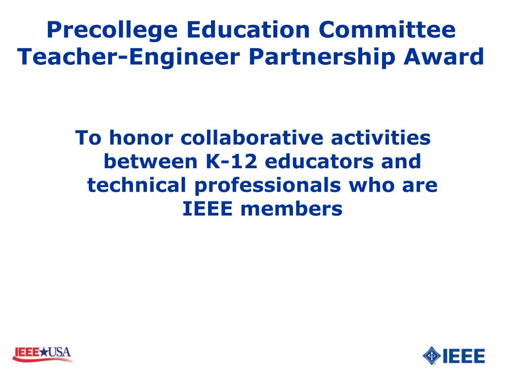 Precollege Education Committee