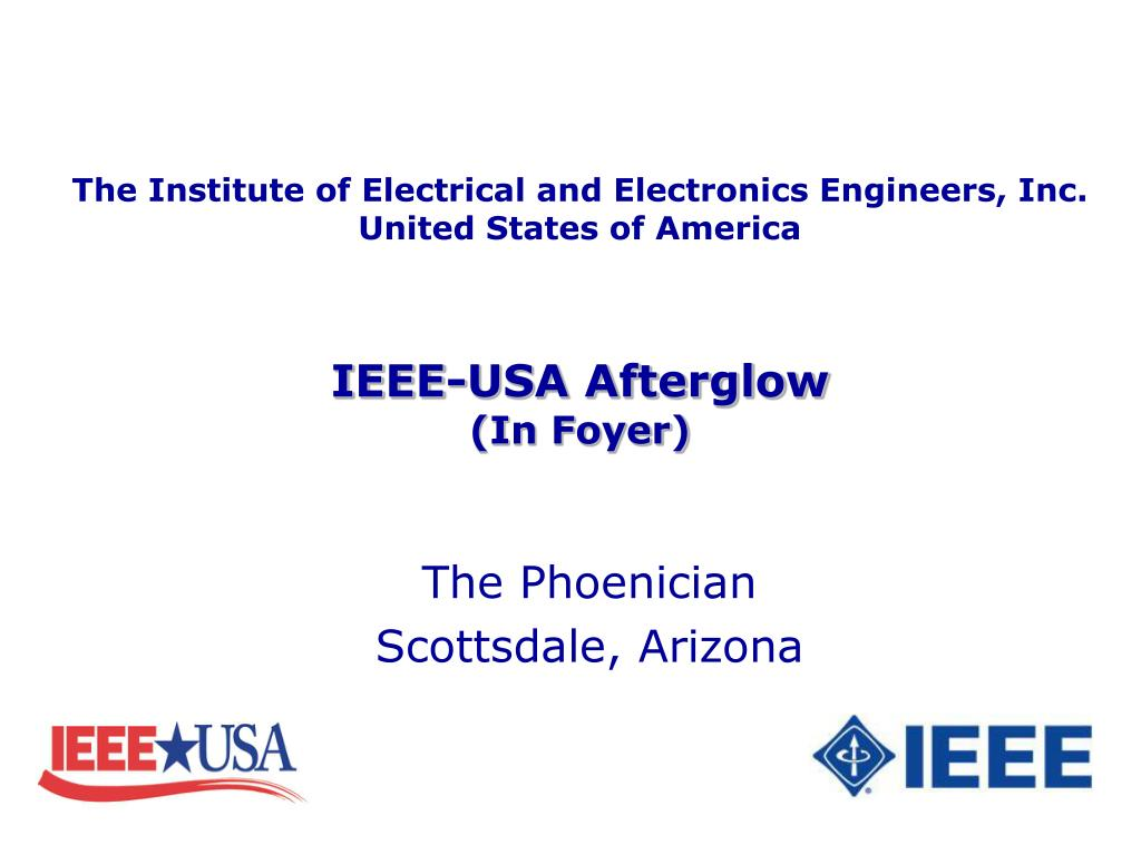 The Institute of Electrical and Electronics Engineers, Inc.