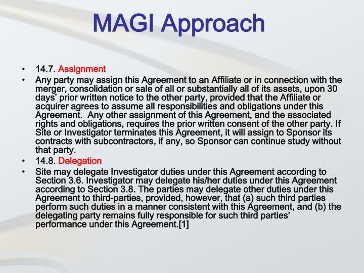 MAGI Approach