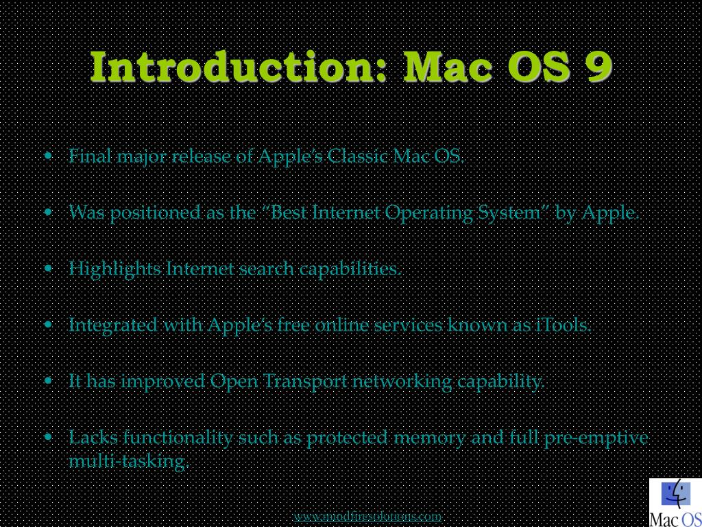 Introduction: Mac OS 9