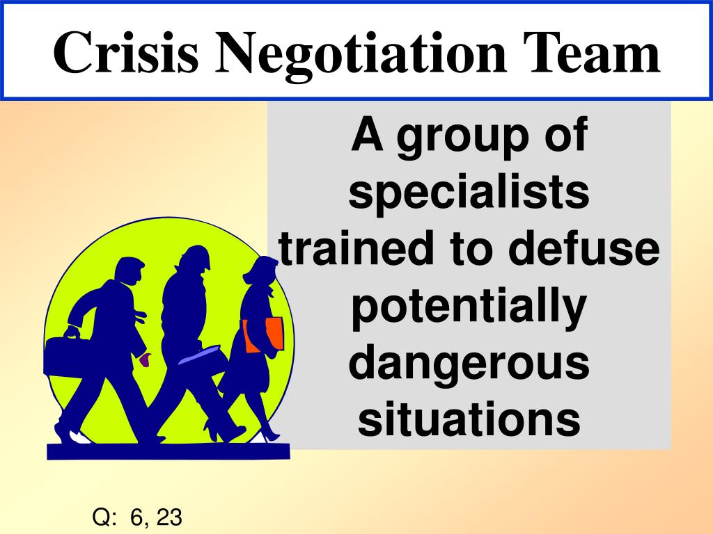 Crisis Negotiation Team