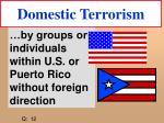 domestic terrorism21