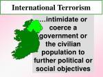 international terrorism53