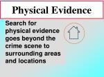 physical evidence81