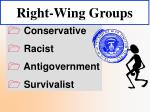 right wing groups34