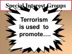 special interest groups43