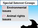 special interest groups45
