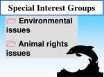 special interest groups46