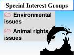 special interest groups47
