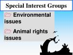 special interest groups48