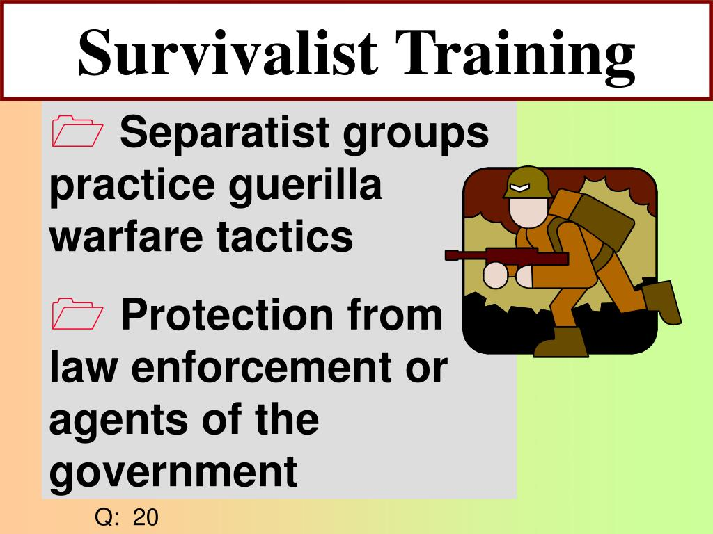 Survivalist Training