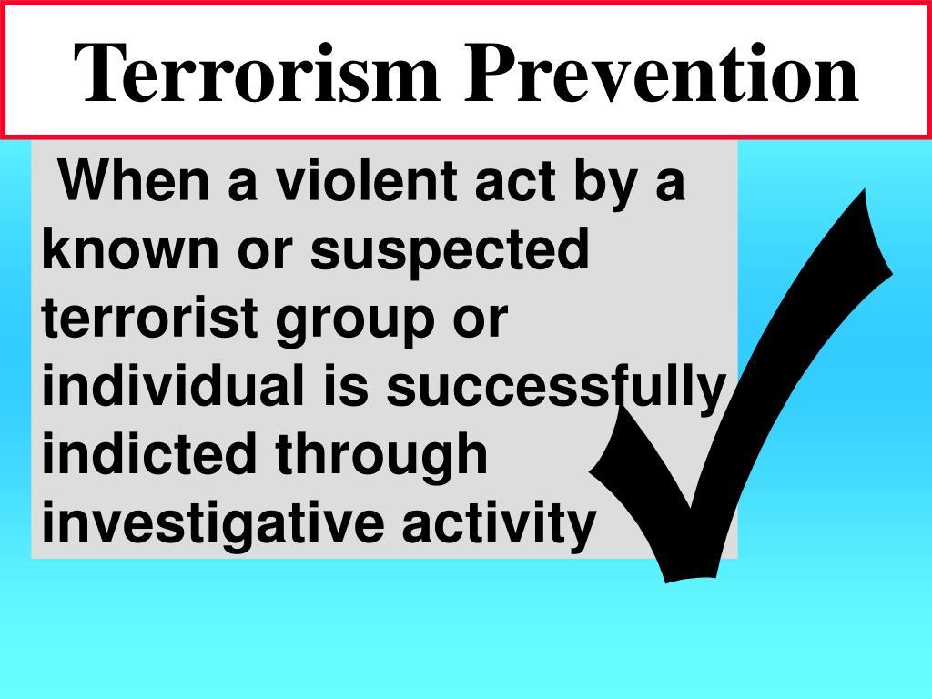 Terrorism Prevention
