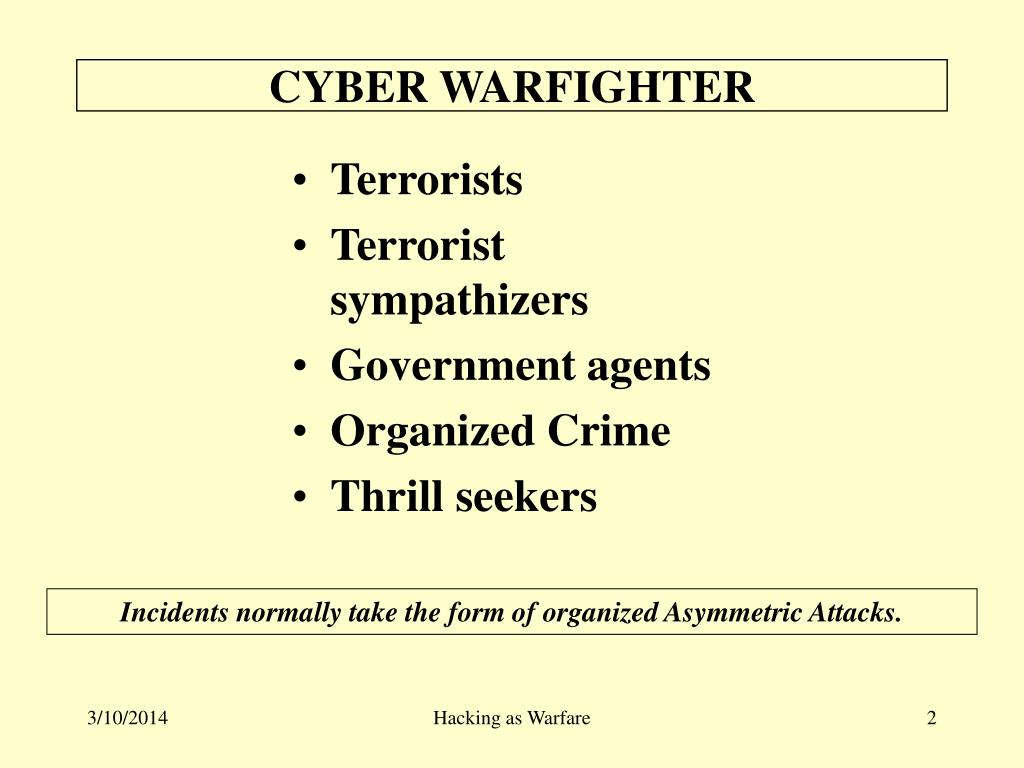 CYBER WARFIGHTER