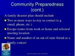 community preparedness cont11