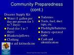 community preparedness cont13