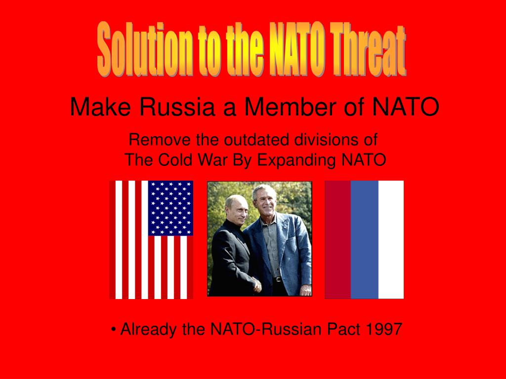 Solution to the NATO Threat