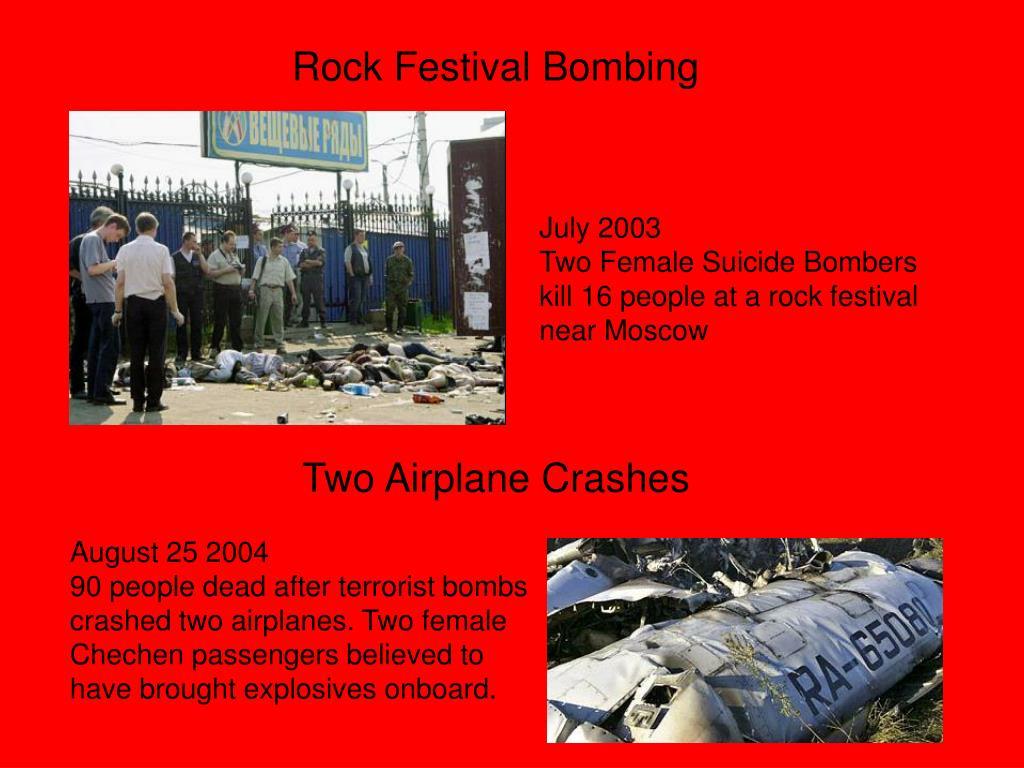 Rock Festival Bombing