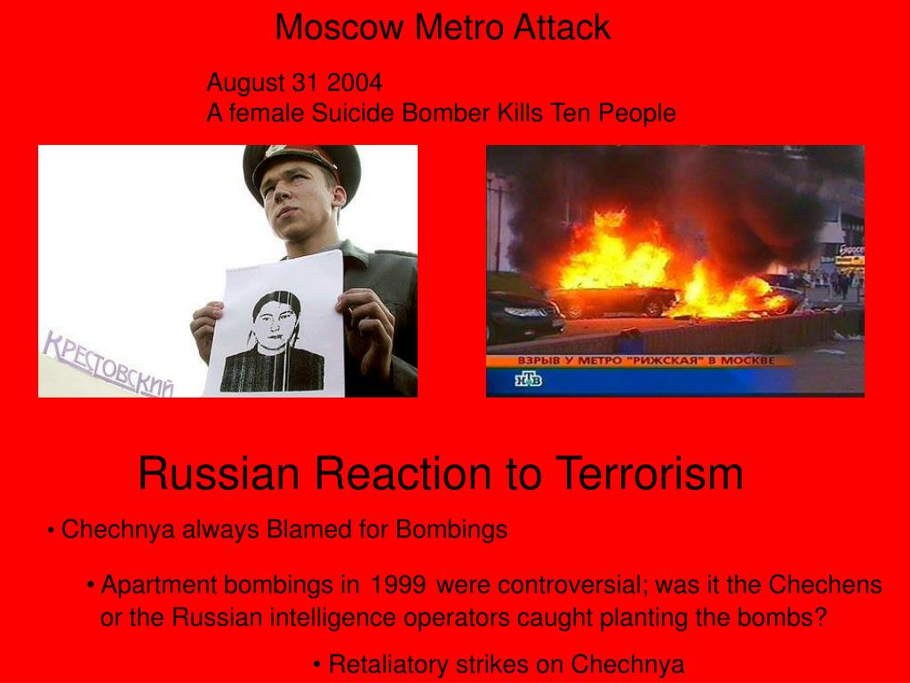 Moscow Metro Attack