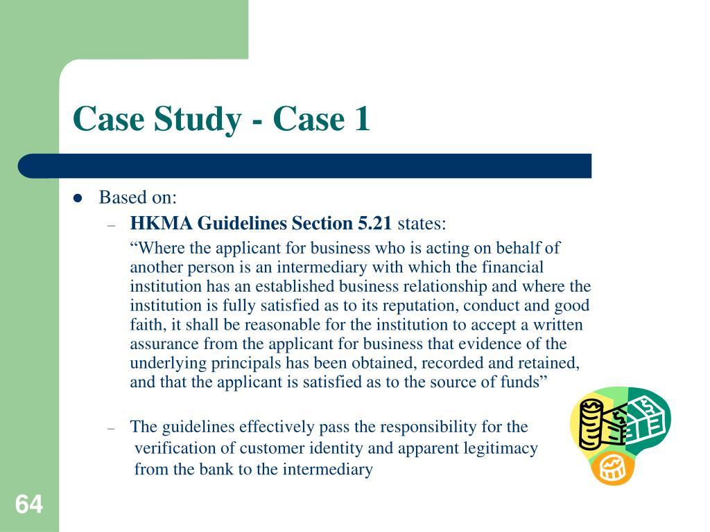 Case Study - Case 1