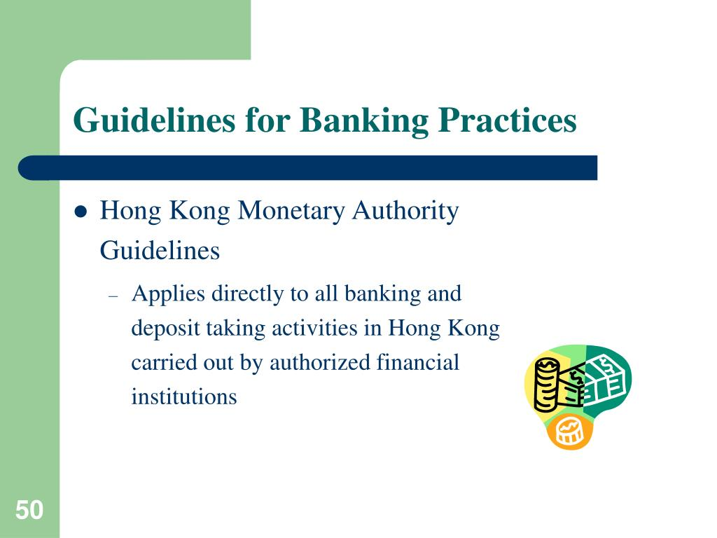 Guidelines for Banking Practices