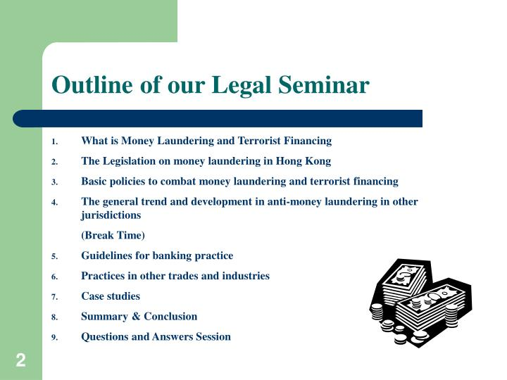 Outline of our legal seminar