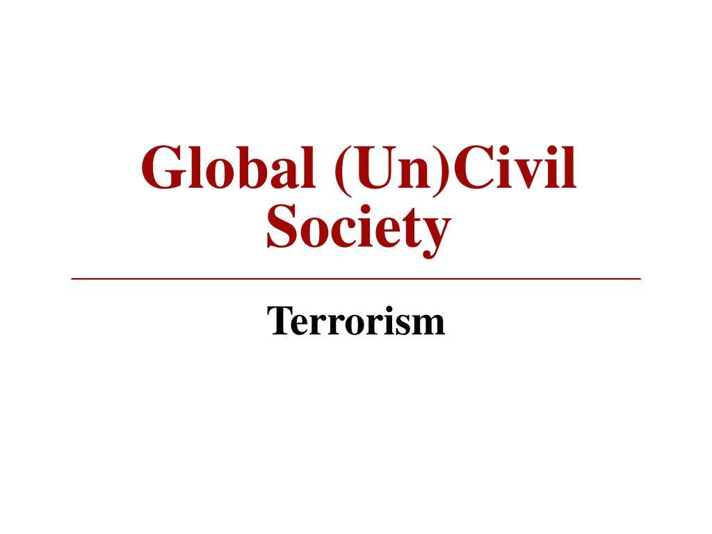 Global (Un)Civil Society