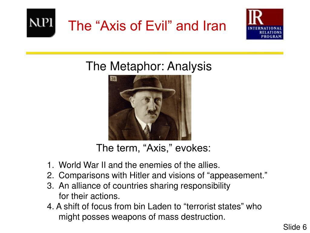 The Metaphor: Analysis