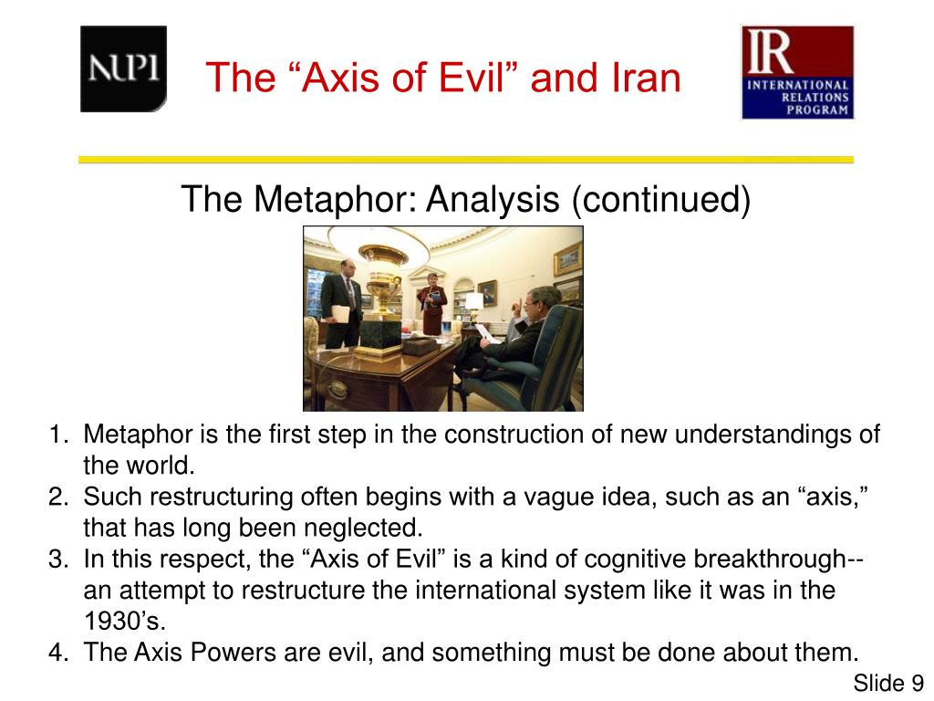 The Metaphor: Analysis (continued)