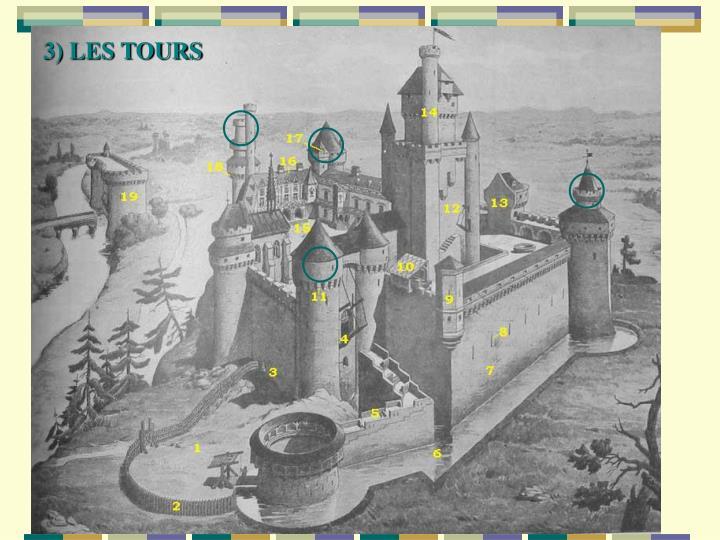 3) LES TOURS
