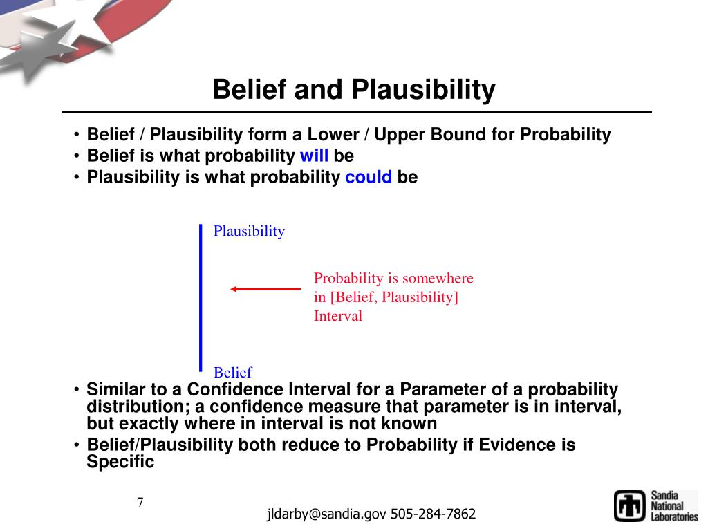 Belief and Plausibility