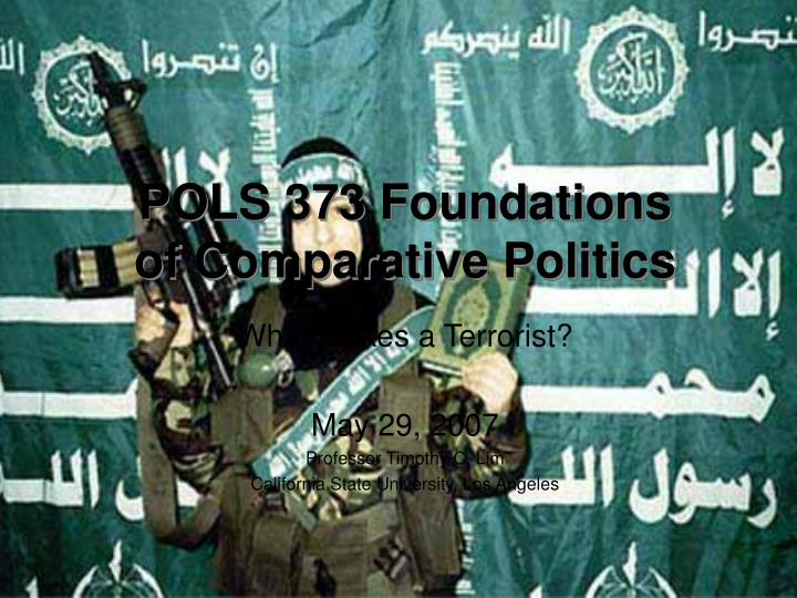 Pols 373 foundations of comparative politics l.jpg