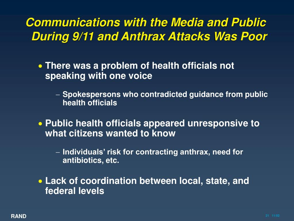 Communications with the Media and Public